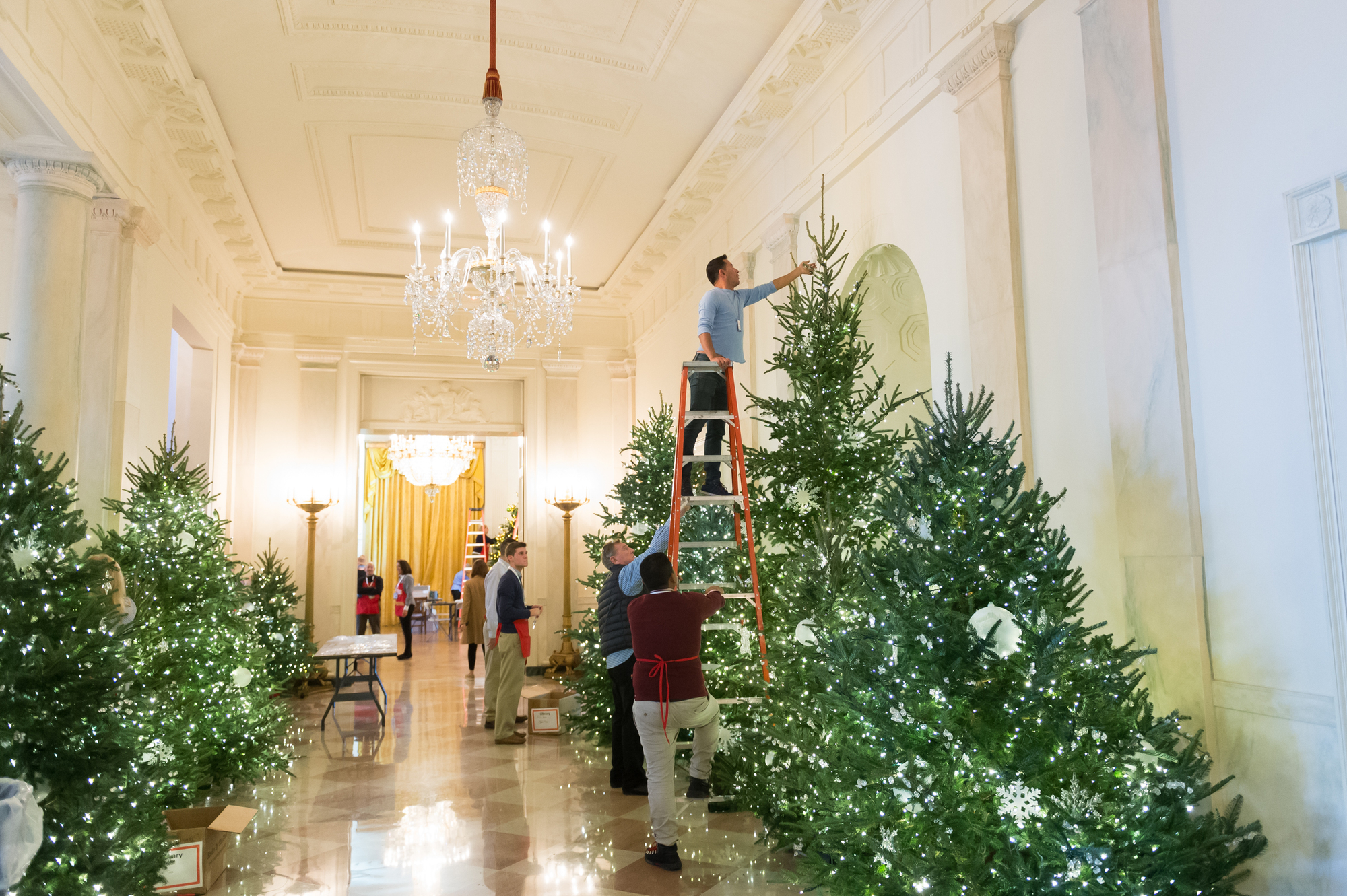 Photos Of The Week Christmas At The White House Obama