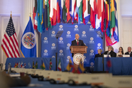 Vice President Pence speaks at OAS
