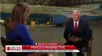 Vice President Pence talks with CBS This Morning