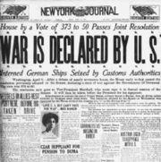 New York Journal April 6, 1917