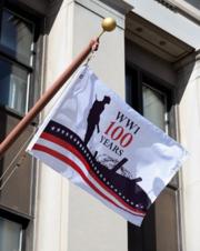 Flag at Legion HQ