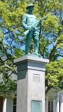 Hunter Doughboy statue