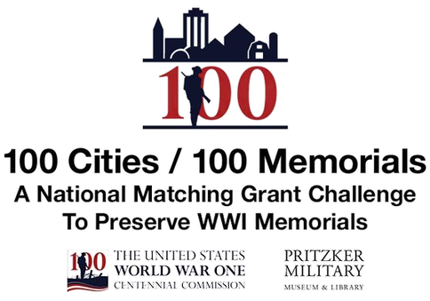 one hundred cities one hundred memorials - a national matching grant challenge to preserve world war 1 memorials