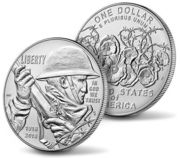 World War I Centennial 2018 Uncirculated Silver Dollar