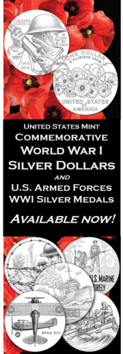 Advertisement Coin Medals