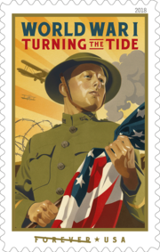 USPS WWI Commemorative Stamp