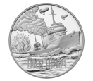 Navy coin face