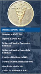 Medicine in WWI