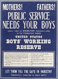 Boys working Reserve