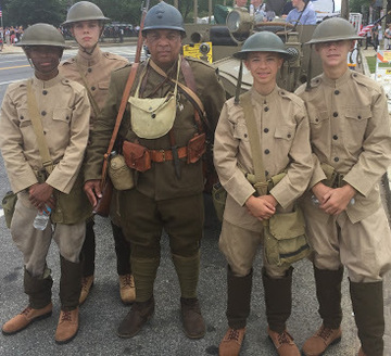 Memorial Day Parade Doughboys 2017