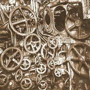 Interior of a WWI era German U-Boat