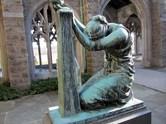 """""""Sacrifice and Devotion"""" sculpture"""