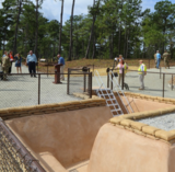 Fort Benning trench exhibit