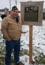 Laplander with McGrath plaque