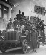 False Armistice reaction NYC