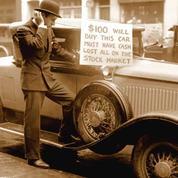 Bankrupt investor Walter Thornton  roadster for $100 cash
