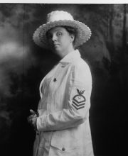 Navy female CPO