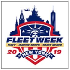 Fleet Week 2019 logo