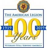 American Legion 100 logo