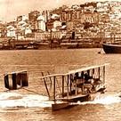 US Navy NC-4 arrives in Lisbon Portugal