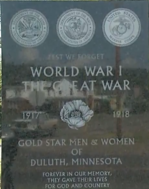 Duluth Memorial detail