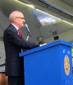 Dave Hamon speaking