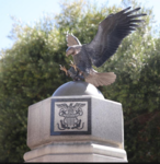 Lompoc memorial eagle