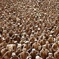Tens of thousands of German soldiers surrender in October of 1918