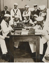 Afraicn American Sailors WWI