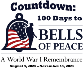 Countown: 100 Days to Bells of Peace 2020 logo