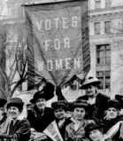 Suffrage sign