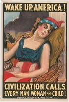 "James Montgomery Flagg, ""Wake up, America!"""