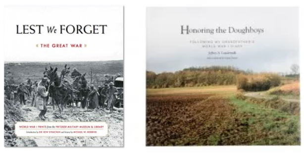 Books --Lest We Forget & Honoring the Doughboys