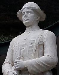 Arkansas WWI statue damaged