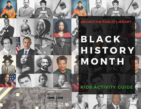 Black History Month Kids Activity Guide