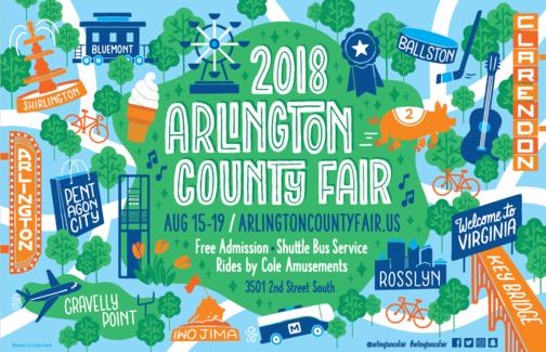 Arlington County Fair Open Aug. 15-19 at Thomas Jefferson Community Center