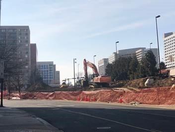 Clark Street demolition