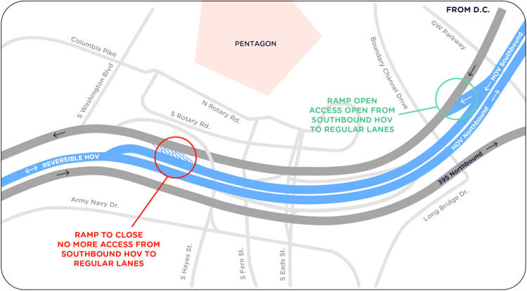 395 slip-ramp closure map