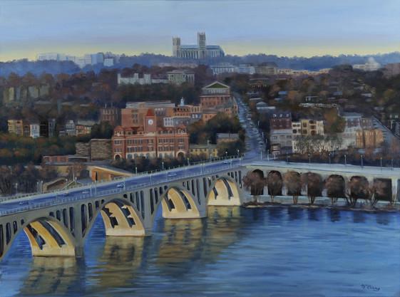 Vista of Georgetown by Jane Coonce
