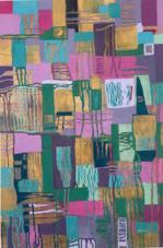 Ilona Lantos, Pieces of My Soul, Acrylic