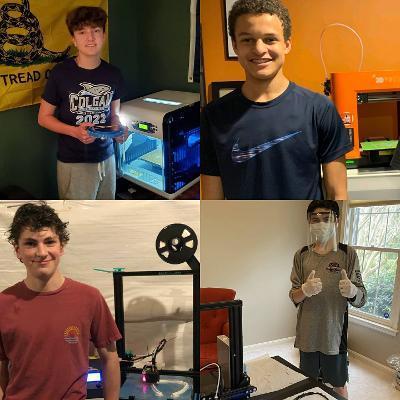 Virginia high schoolers turn pandemic printers to aid PWC medical workers