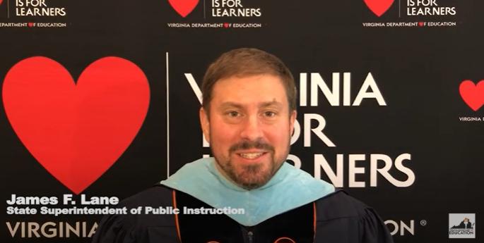 Dr. Lane Commencement Image