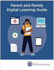 Parent and Family Digital Learning Guide Cover