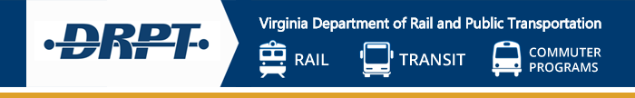Virginia Department of Rail and Public Transportation banner