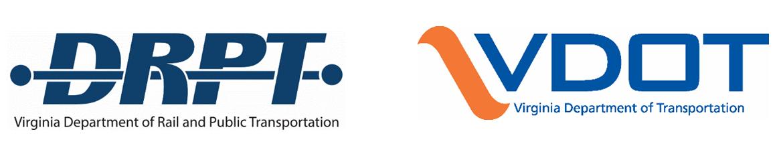 DRPT VDOT logos