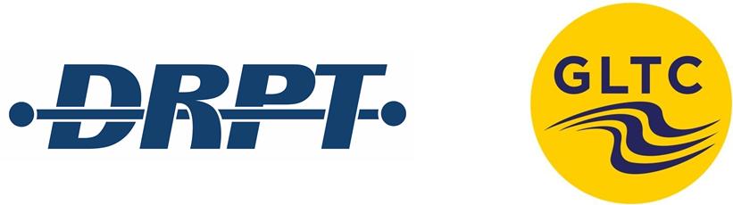 DRPT GLTC logo