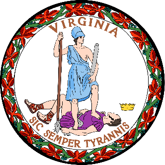 Virginia Seal- full color