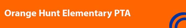 Orange Hunt PTA banner