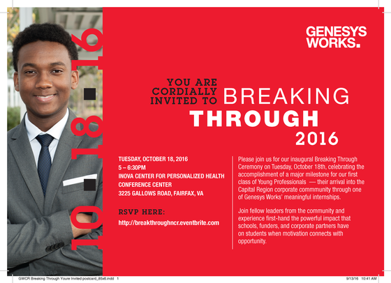 Invitation to Genesys Works event