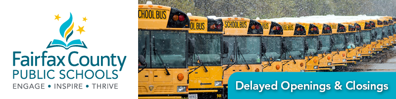 Delayed Opening School Closing banner